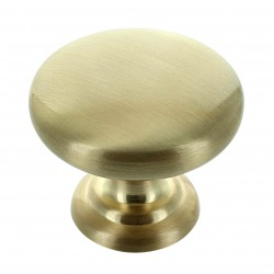 Monmouth 38mm Brushed Satin Brass Cabinet Door Knob