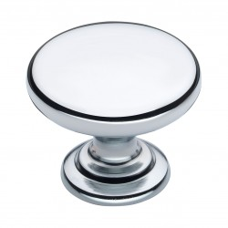 Monmouth 38mm Polished Chrome Cabinet Door Knob