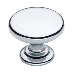 Monmouth 32mm Polished Chrome Cabinet Door Knob