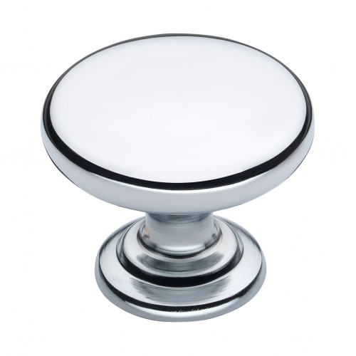 Monmouth Polished Chrome Cabinet Knob - 32mm