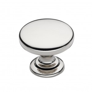 Monmouth Polished Nickel Cabinet Knob - 38mm