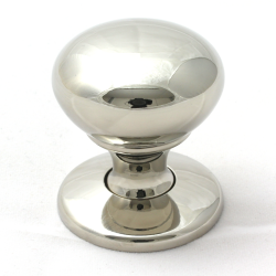 Polished Nickel Cabinet Door Knob | 32mm