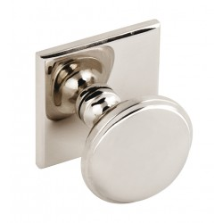 Queslett 34mm Brass Cabinet Knob - Polished Nickel Finish