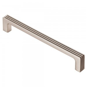 Darini Satin Nickel Cabinet Handle - 160mm Centres