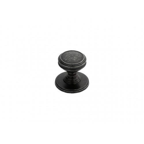 Delamain Plain Knob 25mm - Pewter