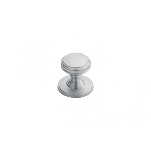 Delamain Plain Knob 25mm - Satin Chrome
