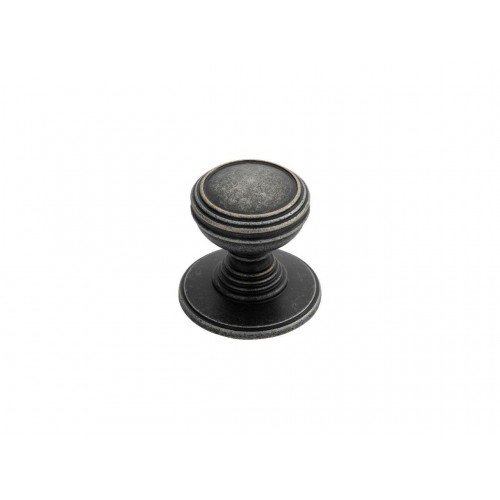 Delamain Plain Knob 30mm - Pewter