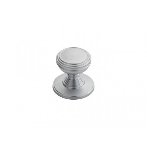 Delamain Plain Knob 30mm - Satin Chrome