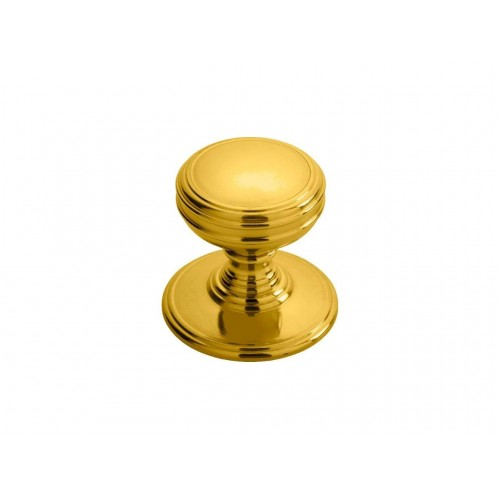 Delamain Plain Knob 38mm - Polished Brass