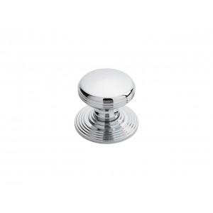 Delamain 35mm Ringed Knob - Polished Chrome