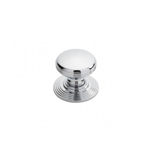Delamain Polished Chrome Ringed Knob - 35mm