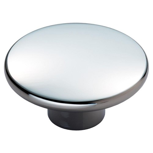 Meridian Polished Chrome Cabinet Knob - 49mm