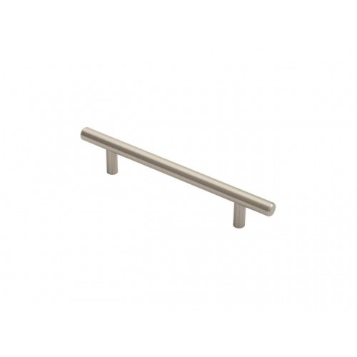 Satin Nickel T-Bar Handle - 128mm Centres