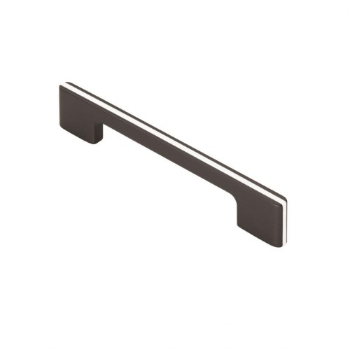 Harris Pull Handle - Black/White - 128mm Centres