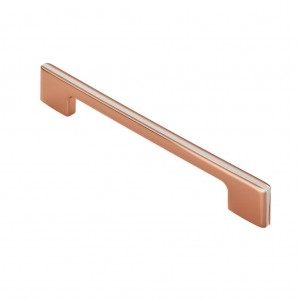 Harris Pull Handle - Copper/White - 160mm Centres