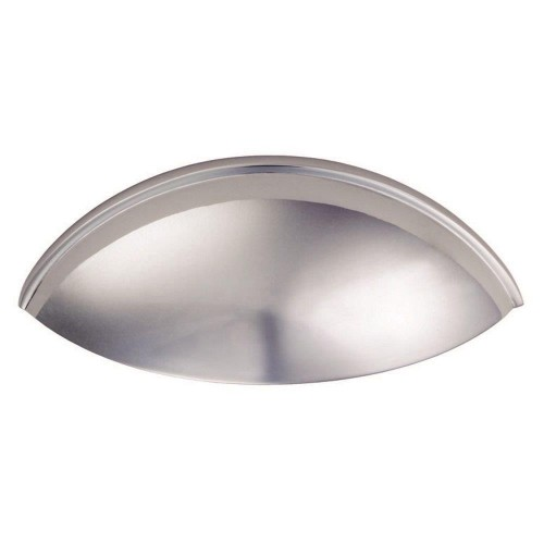 Polished Chrome Contemporary Cup Handle | 64mm Centres