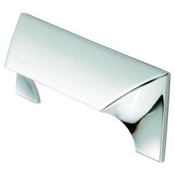 Polished Chrome Capori Handle | 96mm Centres