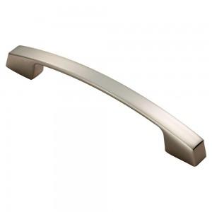 Bridge Handle - Satin Nickel - 128mm Centres