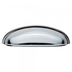 Shaker Polished Chrome Cup Handle - 96mm Centres