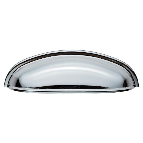 Shaker Cup Handle - Polished Chrome - 96mm Centres