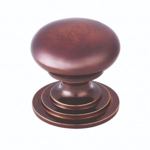 Victorian Cupboard Knob 32mm Dark Bronze