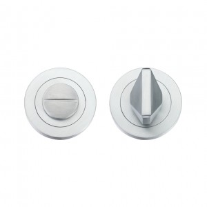 Bathroom/WC Turn & Release Satin Chrome