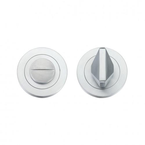 Bathroom/WC Turn & Release Satin Chrome