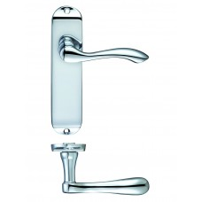 Door Handle Polished Chrome - Arundel