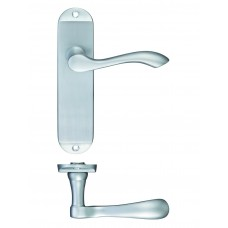 Door Handle Satin Chrome - Arundel