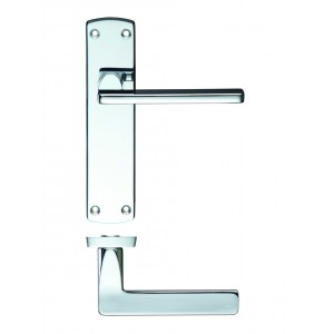 Door Handle Polished Chrome - Leon