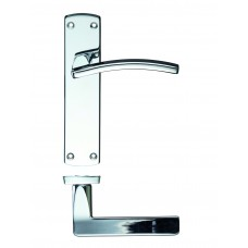 Door Handle Polished Chrome - Toledo