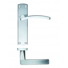 Door Handle Satin Chrome - Toledo