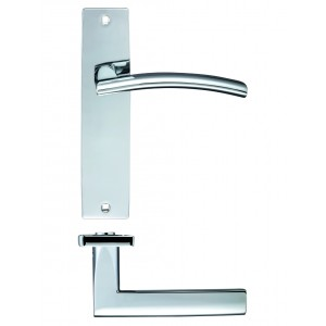 Amalfi Polished Chrome Door Handles